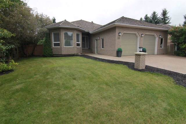 23 Estate Crescent, St. Albert, AB T8N 5X1 (#E4174148) :: The Foundry Real Estate Company