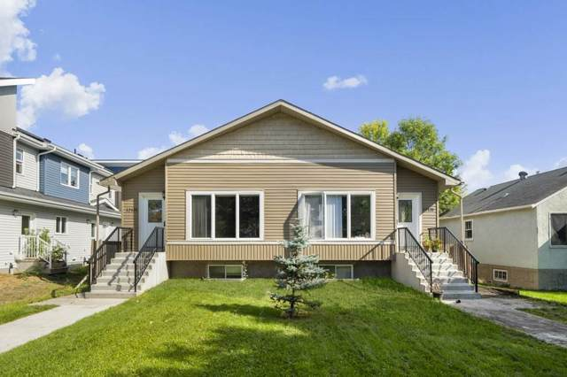 12135 & 12137 124 Street NW, Edmonton, AB T5N 0N1 (#E4174345) :: The Foundry Real Estate Company