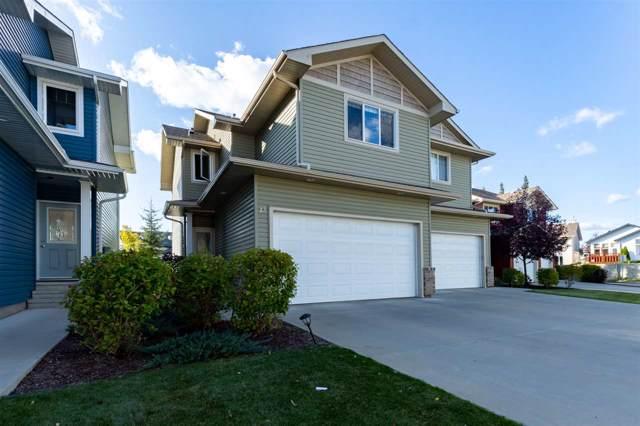 13 735 85 Street, Edmonton, AB T6X 0K5 (#E4174595) :: The Foundry Real Estate Company