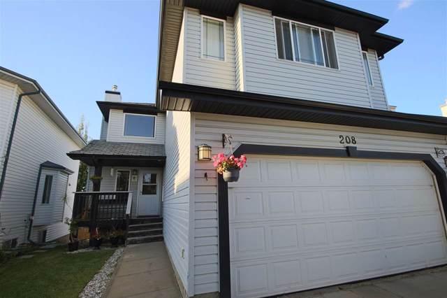 208 Wyman Lane, Edmonton, AB T6T 1M8 (#E4174878) :: David St. Jean Real Estate Group