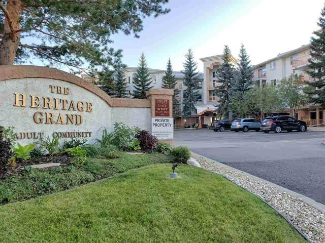 306 10915 21 Avenue, Edmonton, AB T6J 6X2 (#E4175412) :: Initia Real Estate