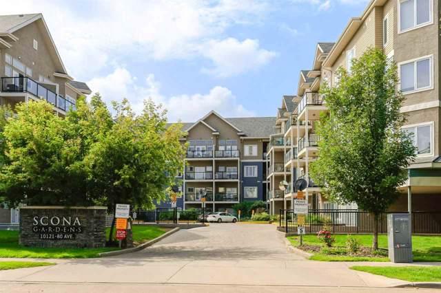 310 10121 80 Avenue, Edmonton, AB T6E 0B9 (#E4176849) :: YEGPro Realty
