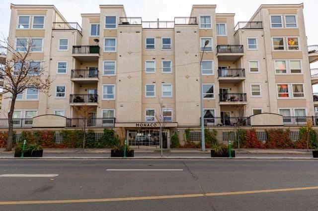 308 10707 102 Avenue, Edmonton, AB T5J 5E4 (#E4177035) :: YEGPro Realty