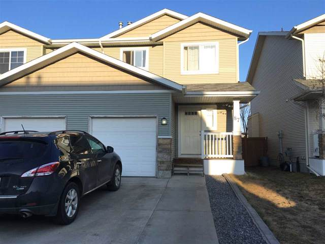 87 14208 36 Street, Edmonton, AB T5Y 0E4 (#E4177158) :: David St. Jean Real Estate Group