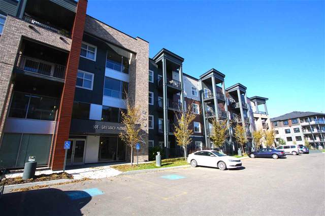 316 508 Griesbach Parade, Edmonton, AB T5R 6V9 (#E4177559) :: The Foundry Real Estate Company