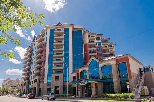 406 10142 111 Street, Edmonton, AB T5K 1K6 (#E4177572) :: YEGPro Realty