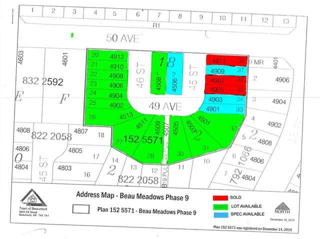 4508 49 Avenue, Beaumont, AB T4X 2B2 (#E4178311) :: Initia Real Estate