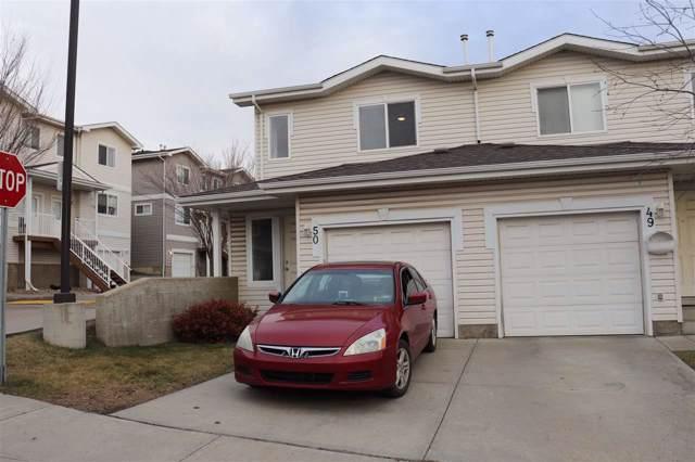 50 130 Hyndman Crescent, Edmonton, AB T5A 0E8 (#E4178792) :: Initia Real Estate