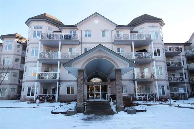 109 2420 108 Street, Edmonton, AB T6J 7J3 (#E4179899) :: Initia Real Estate