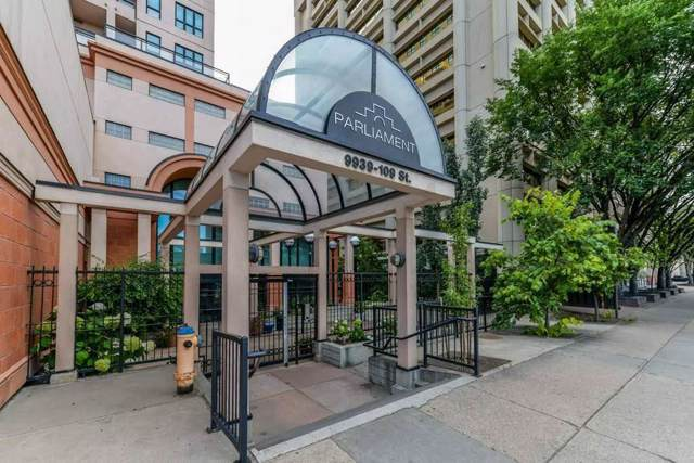 1203 9939 109 Street, Edmonton, AB T5K 1H6 (#E4180152) :: The Foundry Real Estate Company