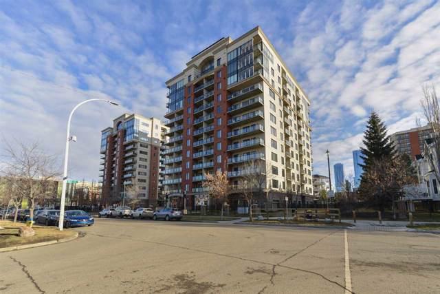 309 10303 111 Street, Edmonton, AB T5K 0C6 (#E4180203) :: The Foundry Real Estate Company