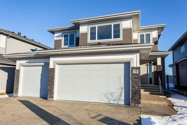 15 Elaine Street, St. Albert, AB T8N 7R6 (#E4180527) :: Initia Real Estate
