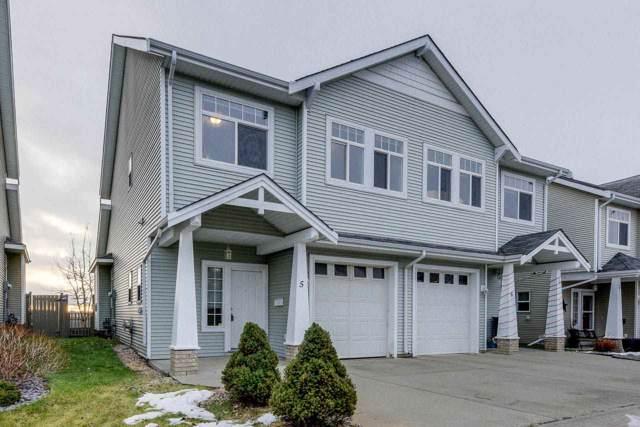 5 200 Erin Ridge Drive, St. Albert, AB T8N 7E2 (#E4180744) :: Initia Real Estate
