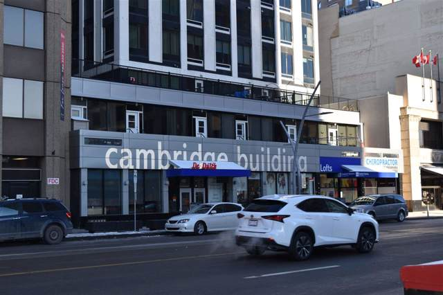 405 10024 Jasper Avenue, Edmonton, AB T5J 1R9 (#E4181156) :: The Foundry Real Estate Company