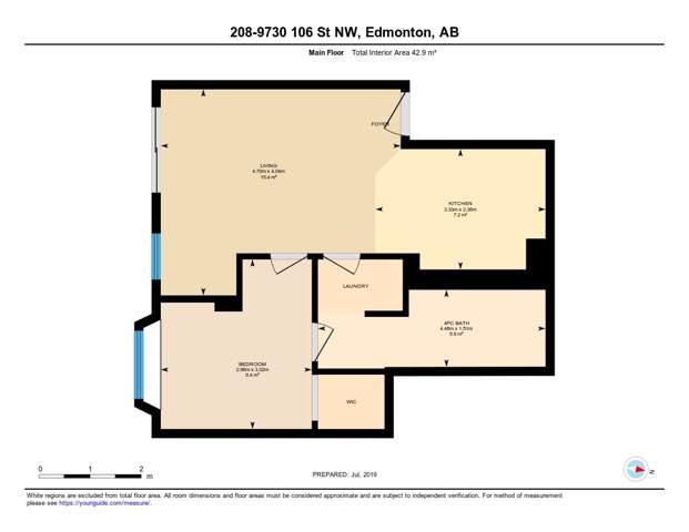 208 9730 106 Street, Edmonton, AB T5K 1B7 (#E4181189) :: YEGPro Realty