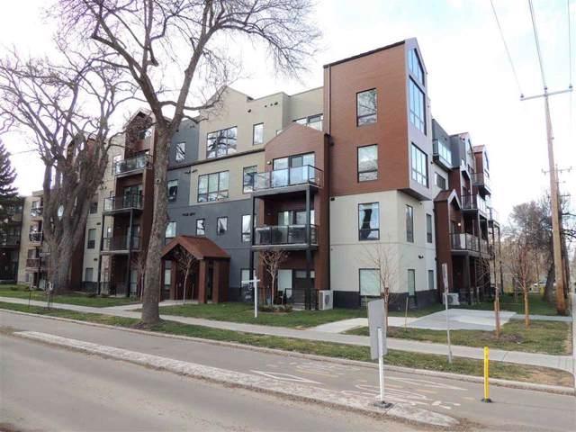 103 10006 83 Avenue, Edmonton, AB T6E 2C2 (#E4181490) :: The Foundry Real Estate Company