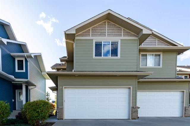 13 735 85 Street, Edmonton, AB T6X 0K5 (#E4181806) :: The Foundry Real Estate Company