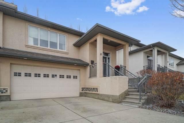 21 50 Oakridge Drive S, St. Albert, AB T8N 7A1 (#E4182906) :: Initia Real Estate
