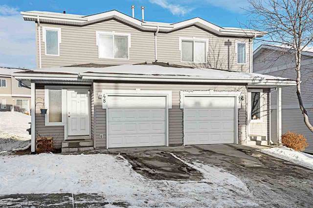 48 130 Hyndman Crescent, Edmonton, AB T5A 0E8 (#E4182974) :: Initia Real Estate