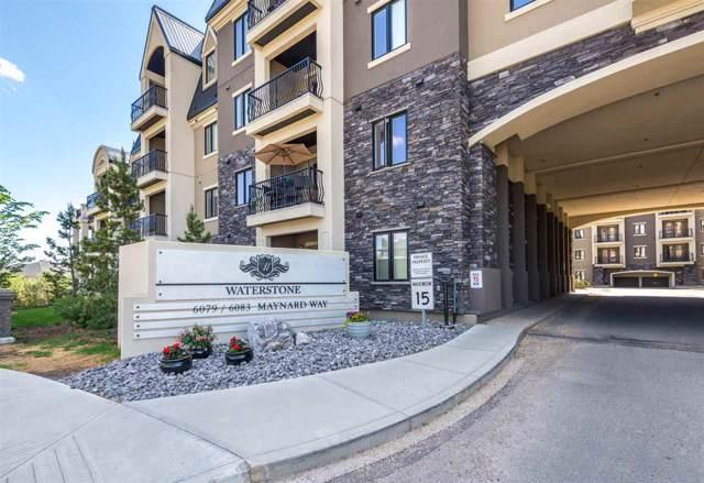 440 6079 Maynard Way, Edmonton, AB T6R 0S4 (#E4183059) :: Initia Real Estate