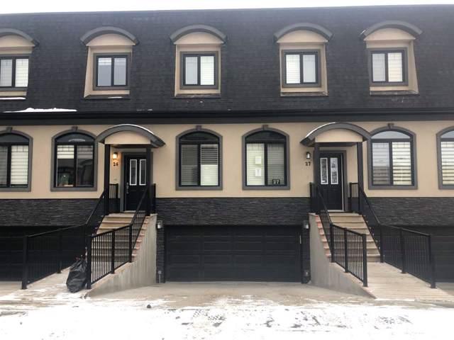 27 5873 Mullen Place, Edmonton, AB T6R 0O0 (#E4183327) :: Initia Real Estate