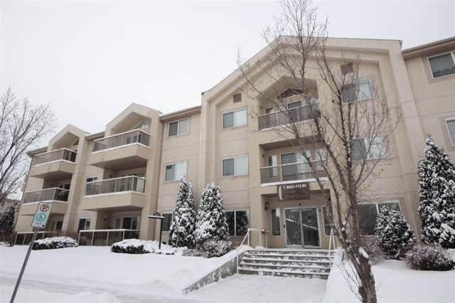 310 6623 172 Street NW, Edmonton, AB T5T 4J5 (#E4183573) :: Initia Real Estate