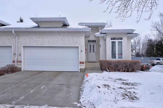 5 1 Oakmont Drive, St. Albert, AB T8N 6L6 (#E4183664) :: Initia Real Estate