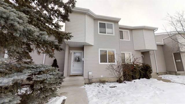 13 3221 119 Street, Edmonton, AB T6J 5K7 (#E4183877) :: Initia Real Estate