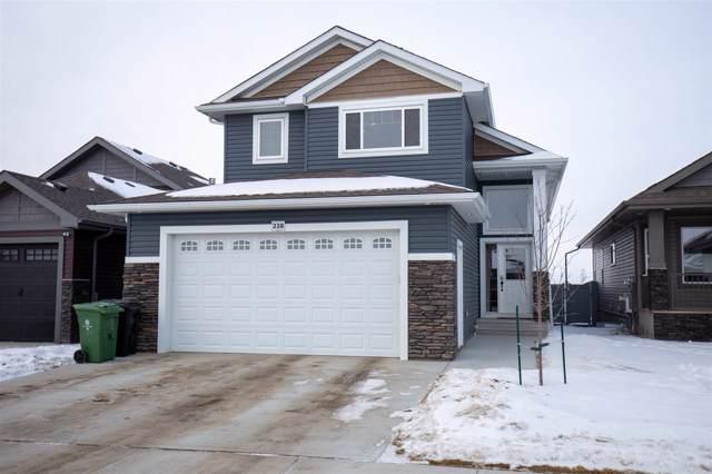 238 Woodhill Lane, Fort Saskatchewan, AB T8L 0L4 (#E4183914) :: Initia Real Estate