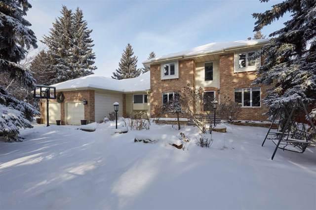7 Whitemud Place, Edmonton, AB T6H 5X4 (#E4184008) :: Initia Real Estate