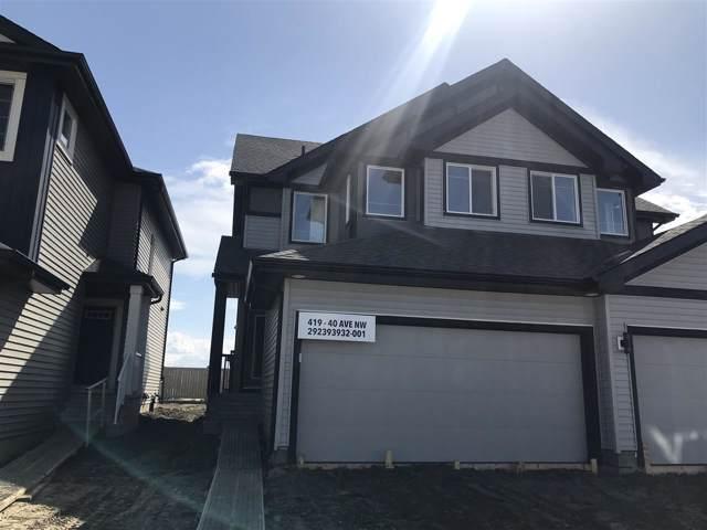419 40 Avenue, Edmonton, AB T6T 2G3 (#E4184081) :: The Foundry Real Estate Company