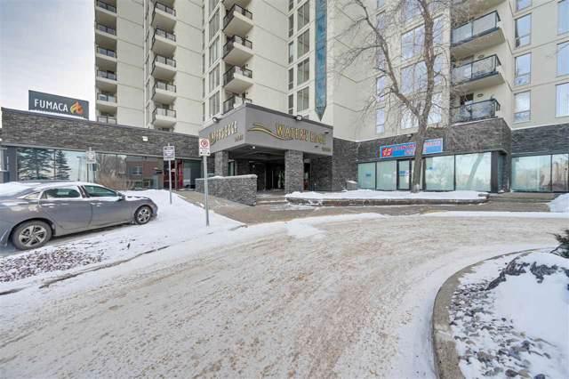 802 10149 Saskatchewan Drive, Edmonton, AB T6E 6B6 (#E4184139) :: Initia Real Estate