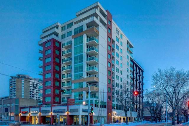 1204 10055 118 Street, Edmonton, AB T5K 0C1 (#E4184304) :: Initia Real Estate