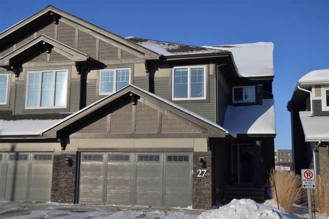 27 8132 217 Street, Edmonton, AB T5T 4S1 (#E4184323) :: The Foundry Real Estate Company