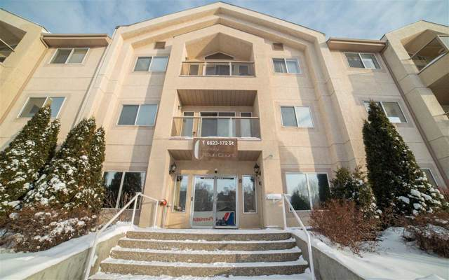 306 6623 172 Street, Edmonton, AB T5T 4J5 (#E4184369) :: Initia Real Estate