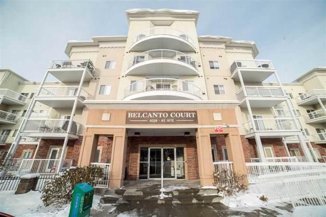 110 8528 82 Avenue, Edmonton, AB T6C 0Y8 (#E4184371) :: The Foundry Real Estate Company