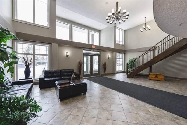 108 12408 15 Avenue, Edmonton, AB T6W 1X2 (#E4184399) :: Initia Real Estate
