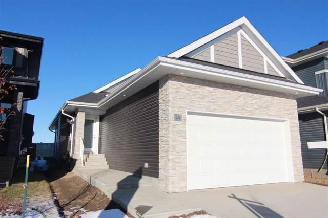 14 Edison Drive, St. Albert, AB T8N 7W1 (#E4184425) :: Initia Real Estate