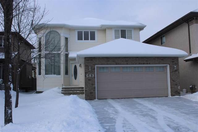 689 Leger Way NW, Edmonton, AB T6R 0C1 (#E4184495) :: Initia Real Estate