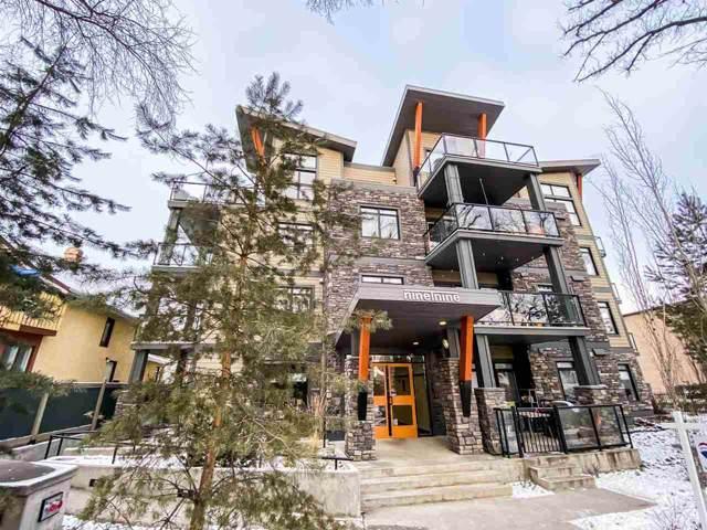 301 9908 84 Avenue, Edmonton, AB T6E 2G3 (#E4184525) :: The Foundry Real Estate Company