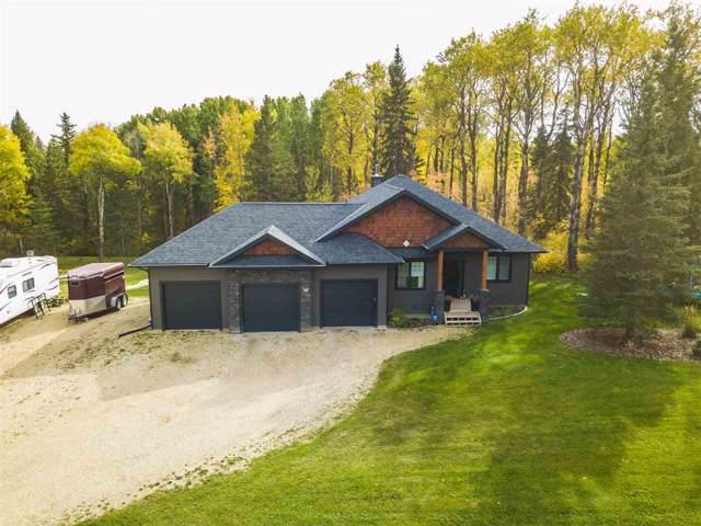 2060 Spring Lake Drive, Rural Parkland County, AB T7Z 0G8 (#E4185004) :: Initia Real Estate