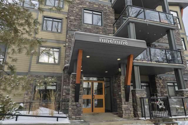 303 9908 84 Avenue, Edmonton, AB T6E 2G3 (#E4185103) :: The Foundry Real Estate Company