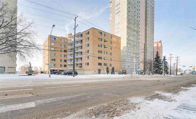 604 12207 Jasper Avenue, Edmonton, AB T5N 3K2 (#E4185126) :: The Foundry Real Estate Company