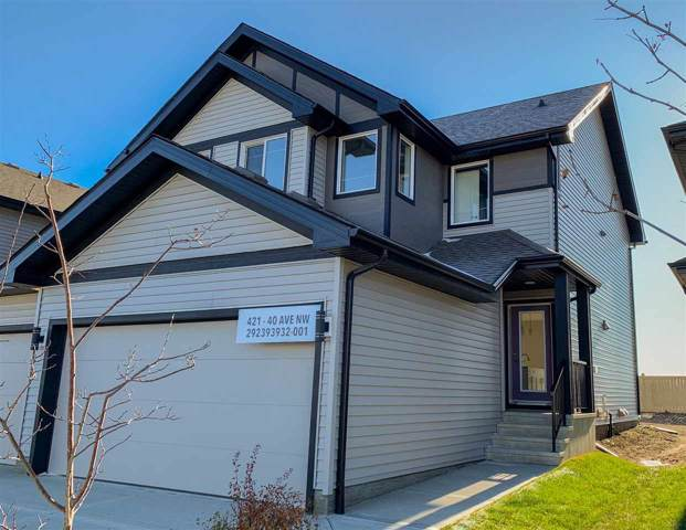 421 40 Avenue, Edmonton, AB T6T 2G3 (#E4185345) :: The Foundry Real Estate Company