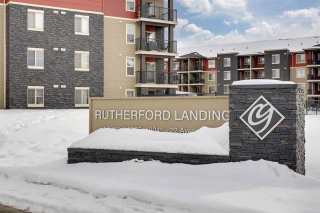 101 12035 22 Avenue, Edmonton, AB T6W 2X9 (#E4186015) :: Initia Real Estate