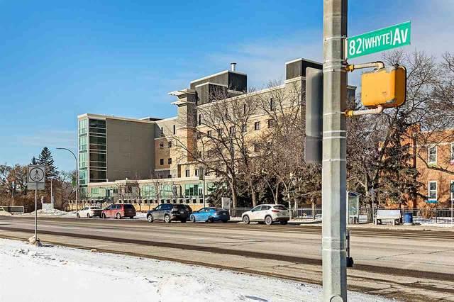 301 9316 82 Avenue, Edmonton, AB T6C 0Z6 (#E4186223) :: Initia Real Estate