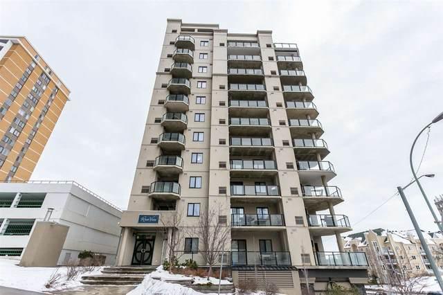 1104 9707 106 Street, Edmonton, AB T5K 0B7 (#E4186486) :: Initia Real Estate