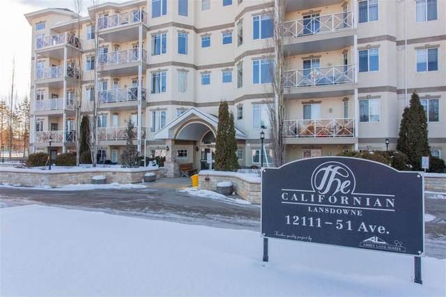 415 12111 51 Avenue, Edmonton, AB T6H 6A3 (#E4187170) :: Müve Team   RE/MAX Elite