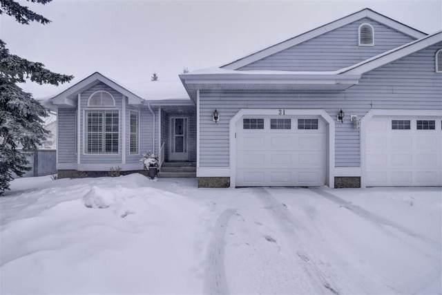 31 13217 155 Avenue NW, Edmonton, AB T6V 1E6 (#E4187462) :: Initia Real Estate