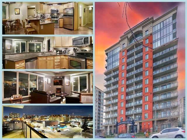 503 10303 111 Street, Edmonton, AB T5K 0C6 (#E4187583) :: The Foundry Real Estate Company
